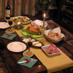 クリスマスディナーにはみんなとは一味違うコーディネートでお出迎え♪