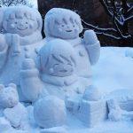 さっぽろ雪まつりで話題になった雪像 写真撮影方法のポイントは?